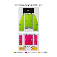 Metropolitan Theatre Morgantown Seating Chart Metropolitan Theatre Wv 2019 Seating Chart