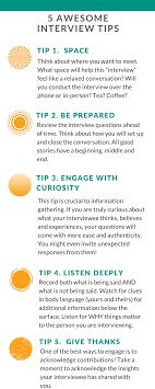 Interview Tip Awesome Interview Tips Ready To Raise