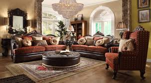 Traditional Sofas Living Room Furniture Hd 6903 Homey Design Traditional Sofa Set Contemporary Living