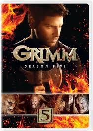Grimm Season 5 DVD Cover DVD and Blu Ray Pinterest Grimm.
