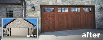 wood look garage door. Unique Look Faux Wood Garage Doors That Look Realistic  New On Door Deluxe Systems