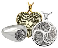 our one of a kind technology produces fingerprint and thumbprint memorial jewelry of unmatched quality the resolution and del is positively uncanny