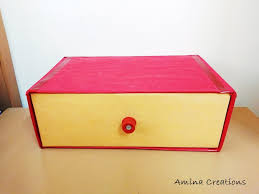 diy cardboard drawer organizer