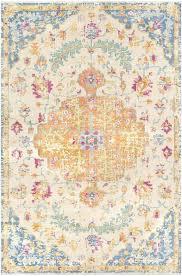 orange and blue area rug area rugs vintage hand knotted wool burnt orange baby blue area