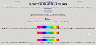 Small Picture 5 Online Tools to Help Calibrate Your Monitor