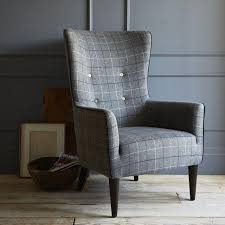 gray wingback chair. Impressive Grey Wingback Chair With Gray Wing Products