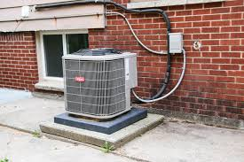 air conditioning unit. how to hide an air conditioning unit
