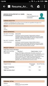 Send Resume As Pdf