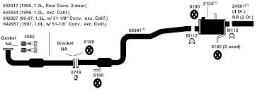 1997 geo prizm engine diagram wiring diagram libraries geo metro exhaust diagram from best value auto parts1997 geo prizm engine diagram 1