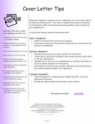 Resume Job Cover Letters Letter Format Examples Professional And