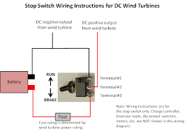 amp stop brake switch ac or dc wind turbine generator marine see photos and wiring diagrams below photobucket photobucket photobucket