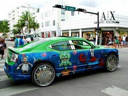 Cars With Big Rims Pics