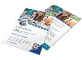 Babysitting Templates Flyers Pro Babysitting Service Flyer Template