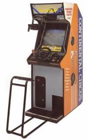continental circuit videogame by taito continental circuit cabinet image
