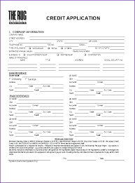 Fax Form Template Free Simple Customer Application Form Template Free Credit Templates Samples