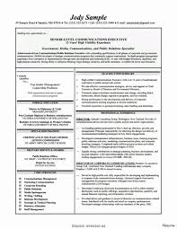Public Relations Manager Resume Sample Fresh Sample Public Relations ...