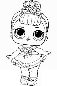 Free Printable Lol Surprise Dolls Coloring Pages Magnificent Baby