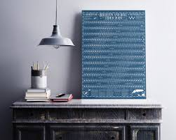 New Haven Tide Chart 2020 Brighton And Hove Shoreham Newhaven Sussex Tide Wall Chart