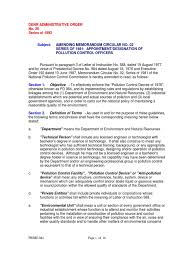 Pco Duties And Responsibilities Wastewater Clean Water Act