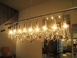 bronze rectangular chandelier