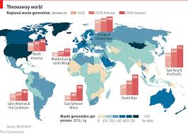Global Chart Daily Chart Global Waste Generation Will Nearly Double By