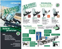 hitachi a5 brochure