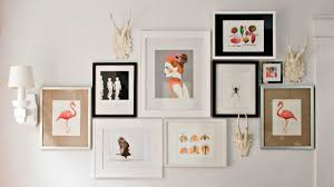diy wall art frame unique photo wall gallery