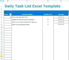 Phone Extension List Template Excel Employee To Do List Template Download Free Daily Task Photo