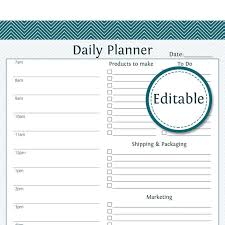 work day planner template business daily planner oyle kalakaari co