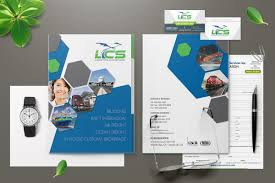 Graphic Design Presentation Pdf Lcs Logistics Branding Design Presentation Folder Business