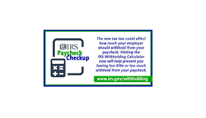 Paycheck Deductions Calculator Paycheck Checkup Withholding Calculator Reflects Changes In