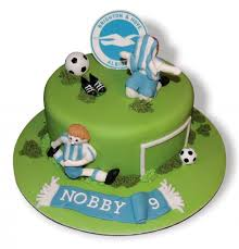BHA Football 540x561 simply marvellous cakes brighton & hove albion fc on birthday cakes brighton and hove