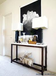 hall console table white. Narrow Tables For Hallway Console Best Table Ideas On Entry . Hall White