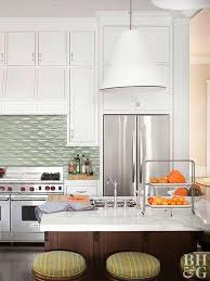 kitchen design white cabinets white appliances. Kitchen With White Cabinets Dark Wood Island And Stainless Steel Appliances Kitchen Design N
