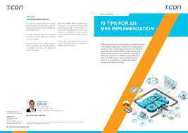 The Mes 10 Tips For An Mes Implementation Whitepaper L T Con