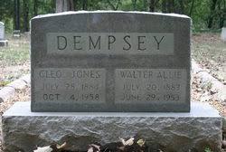 Cleo Gertrude Jones Dempsey (1884-1958) - Find A Grave Memorial