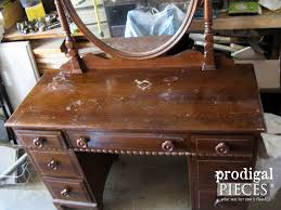 Kroehler Bedroom Furniture Vintage Vanity With French Country Cottage Style Prodigal Pieces