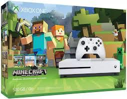 Xbox One S 500GB Console - Minecraft Bundle - Đồ chơi Minecraft chính hãng