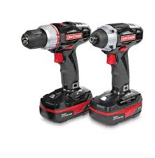 craftsman power tool set. craftsman c3 19.2-volt lithium-ion drill/impact driver combo power tool set