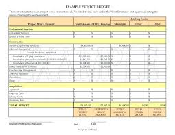 Budget Proposal Template Excel Sample Project Budget Template Office Sample Budget Proposal Office