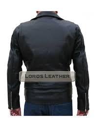 ghost rider johnny blaze leather motorcycle jacket biker