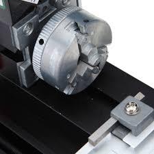 mini metal motorized lathe machine woodworking diy tool