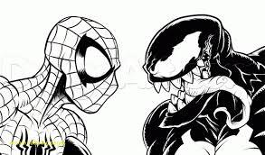 Venom Coloring Pages With Venom Coloring Pages Hellokids #2677 ...