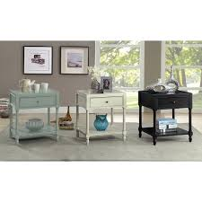 Furniture of America Madelle III Vintage Style Storage End Table