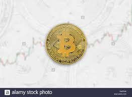Bitcoin Currency Chart Physical Coin Of Bitcoin Crypto Currency Trade Chart