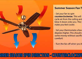which direction for ceiling fan during summer which direction to set ceiling fan for summer ceiling
