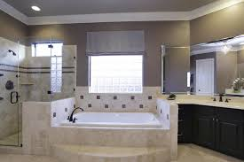 Master bath includes a jacuzzi tub with glass-block window and large walk-in
