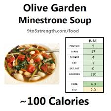 how many calories in olive garden