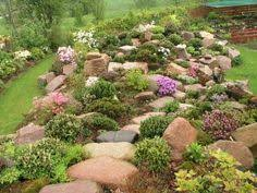 Small Picture ROCK GARDEN DESIGN PLAN Full of color texture and virtually no
