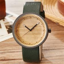 wood watch male las simply stylish natural wooden wrist watch men